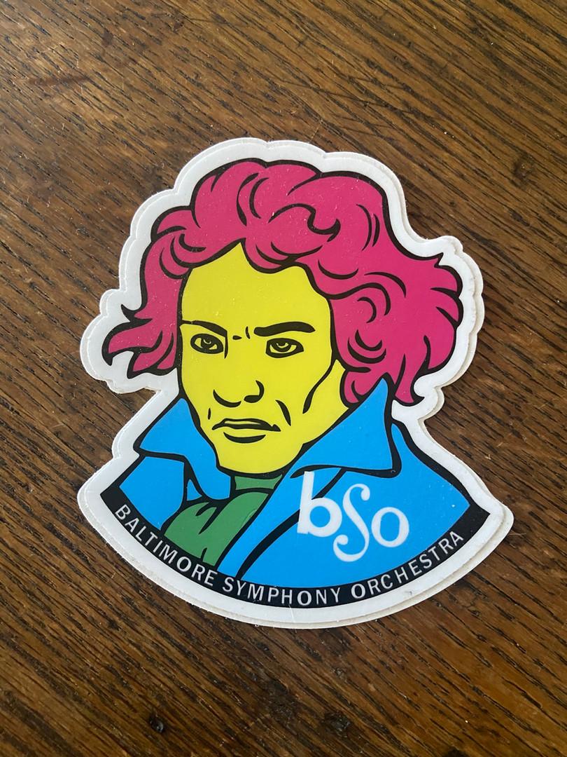 Beethoven Sticker
