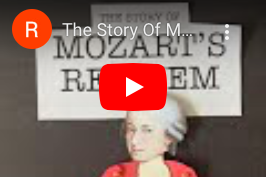 Mozart's Requiem Stop Motion Video