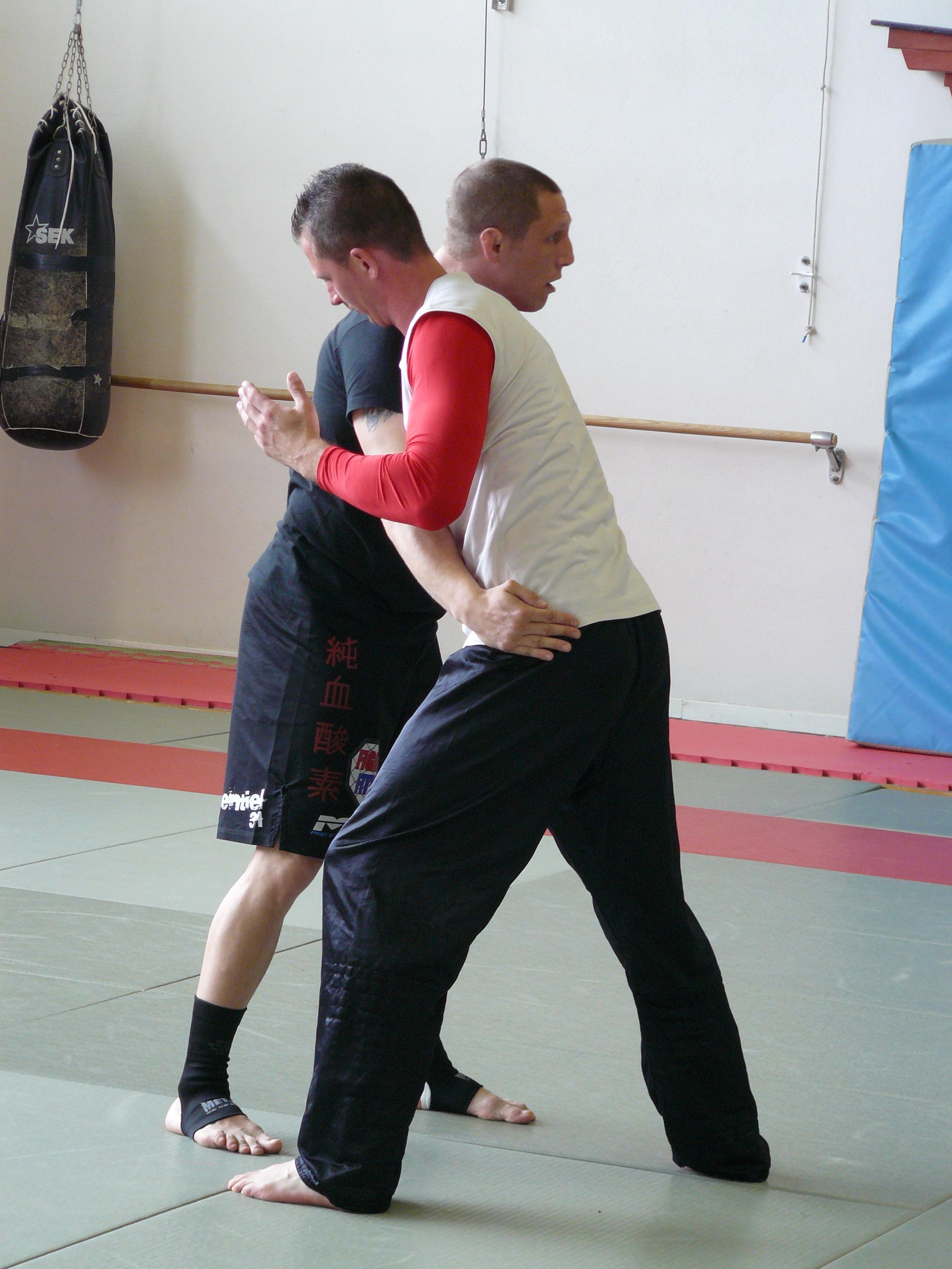 Gilles avec Anthony Réa