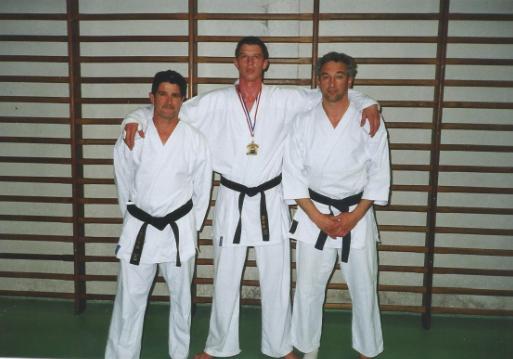 Les deux entraîneurs de Gilles