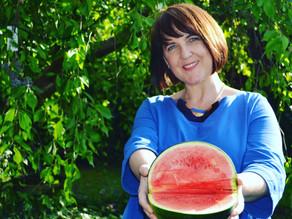 """I carried a watermelon 🍉"""