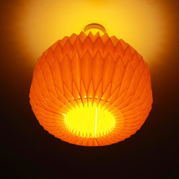 UFO inspiration from a light shade