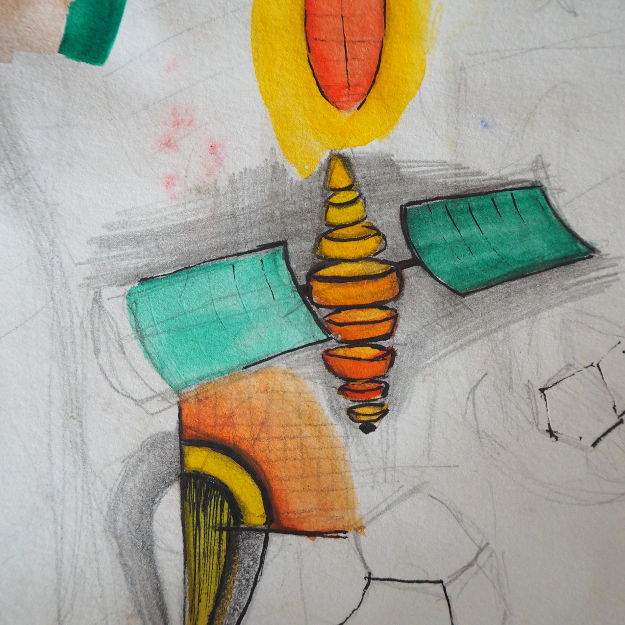 Abstract Drawing Experiments