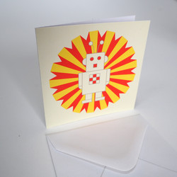 Notecard Ray the Robot