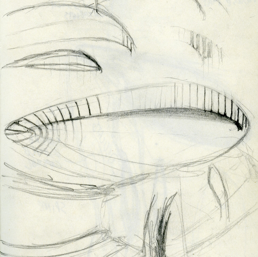 drawings sculpture botanical