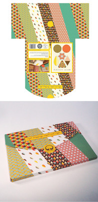 Packaging Design for Wrapping Paper