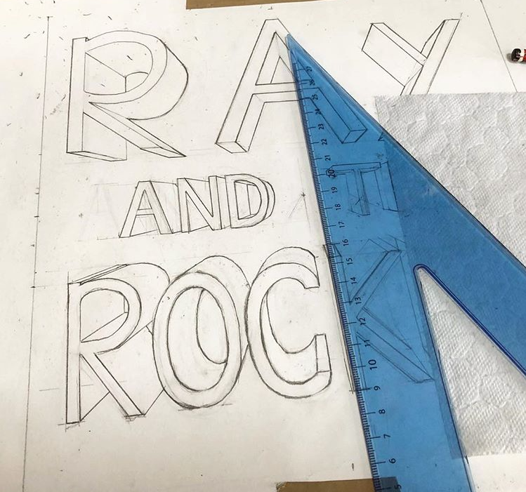 Front Cover Design - Ray and the Rocket