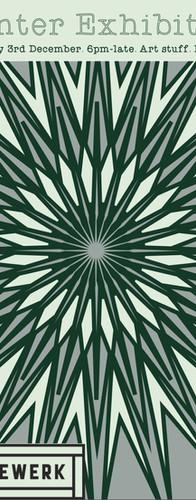 Poster Design for Framewerks Christmas Exhibition