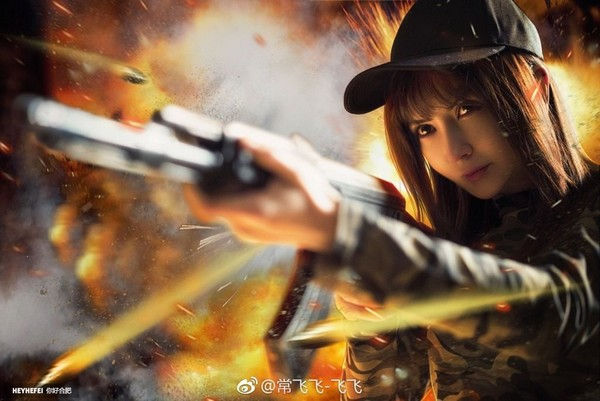 Chinese Girl Cosplay Stunning Game Pubg Beautiful Pubg Cosplay
