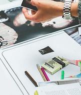 雑誌印刷の作業手