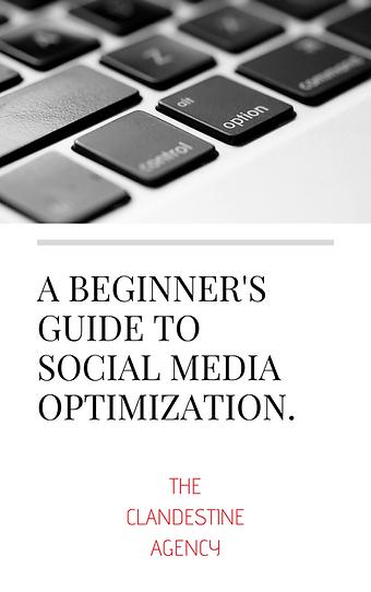A beginner's guide to social media optimization.