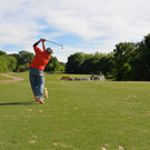 Senior Access golfer