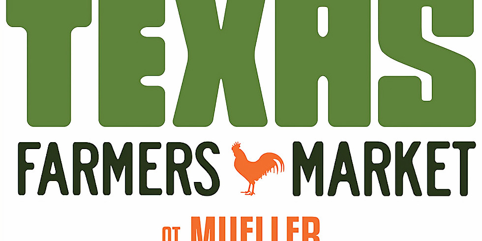 We'll be at the Mueller Farmer's Market this Wednesday!