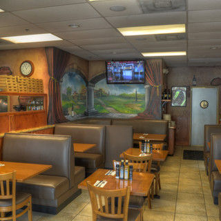 Comfy booth seating available