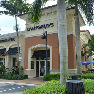 Welcome! Plenty of parking.  Outdoor seating, too!