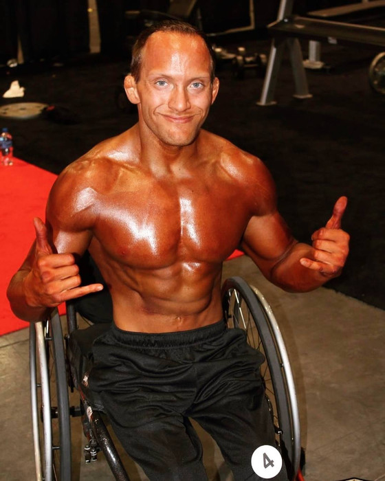 So you're in a wheelchair....and you're not sure what you're capable of Tyler Brey