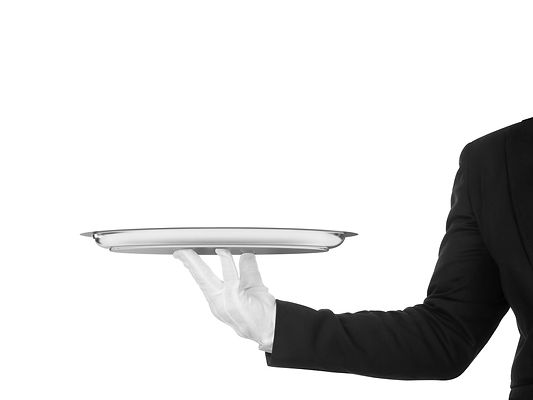 hand-of-the-waiter-in-white-glove-518121