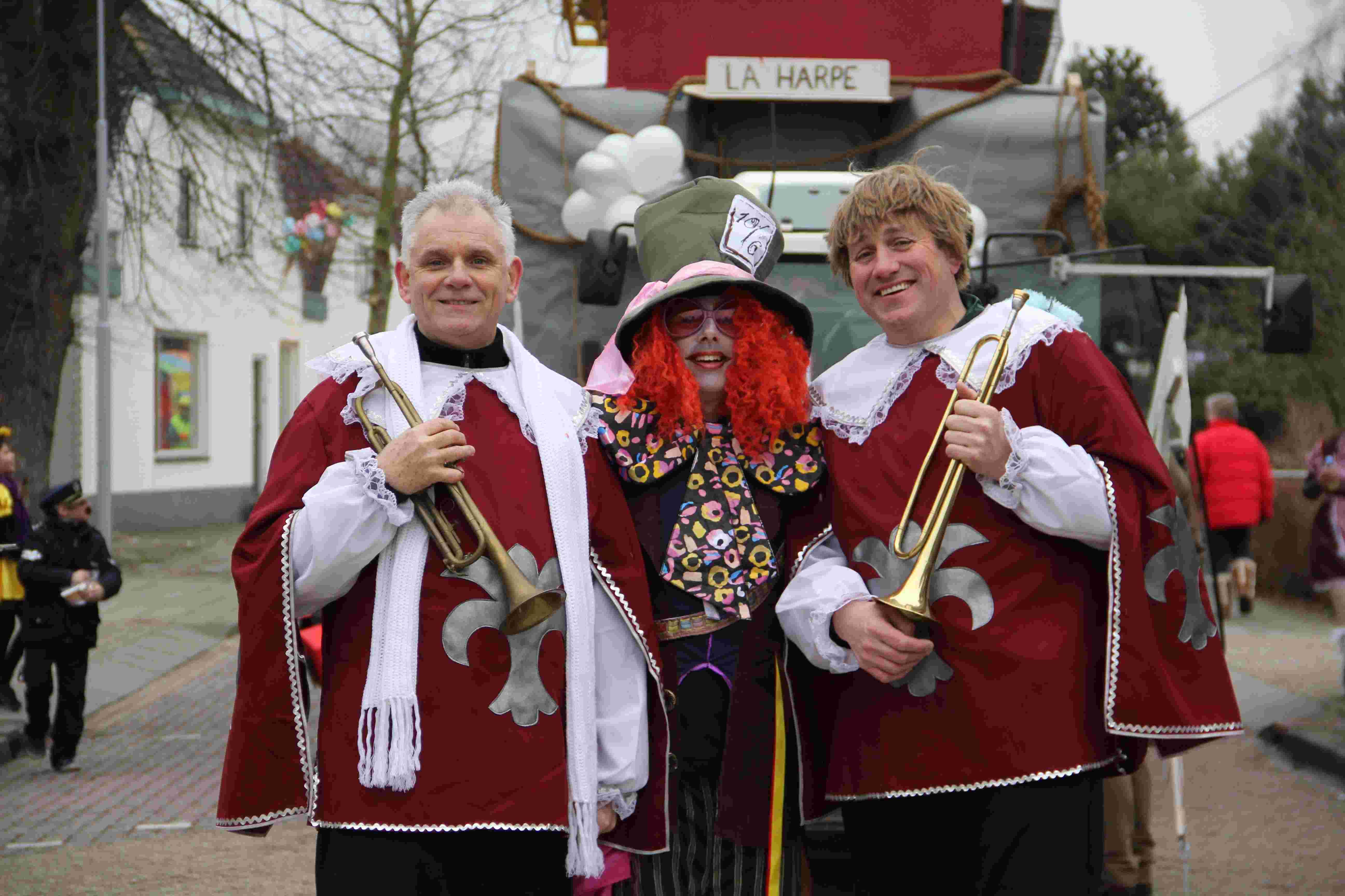 Carnaval fanfare La Harpe