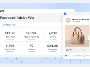Facebook Ads by Wix