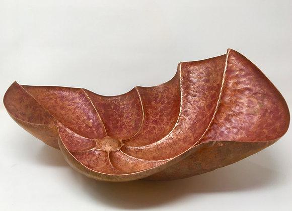 copper, swirl bowl
