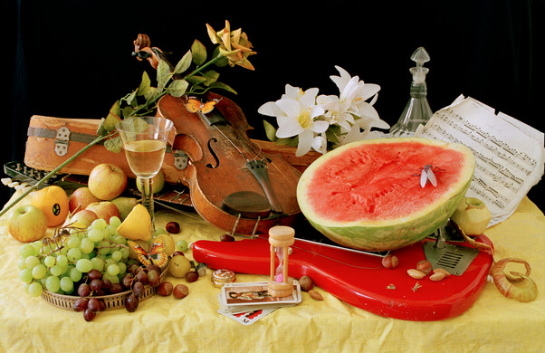 Watermelon and Electric, Photography and Archival print, 2011