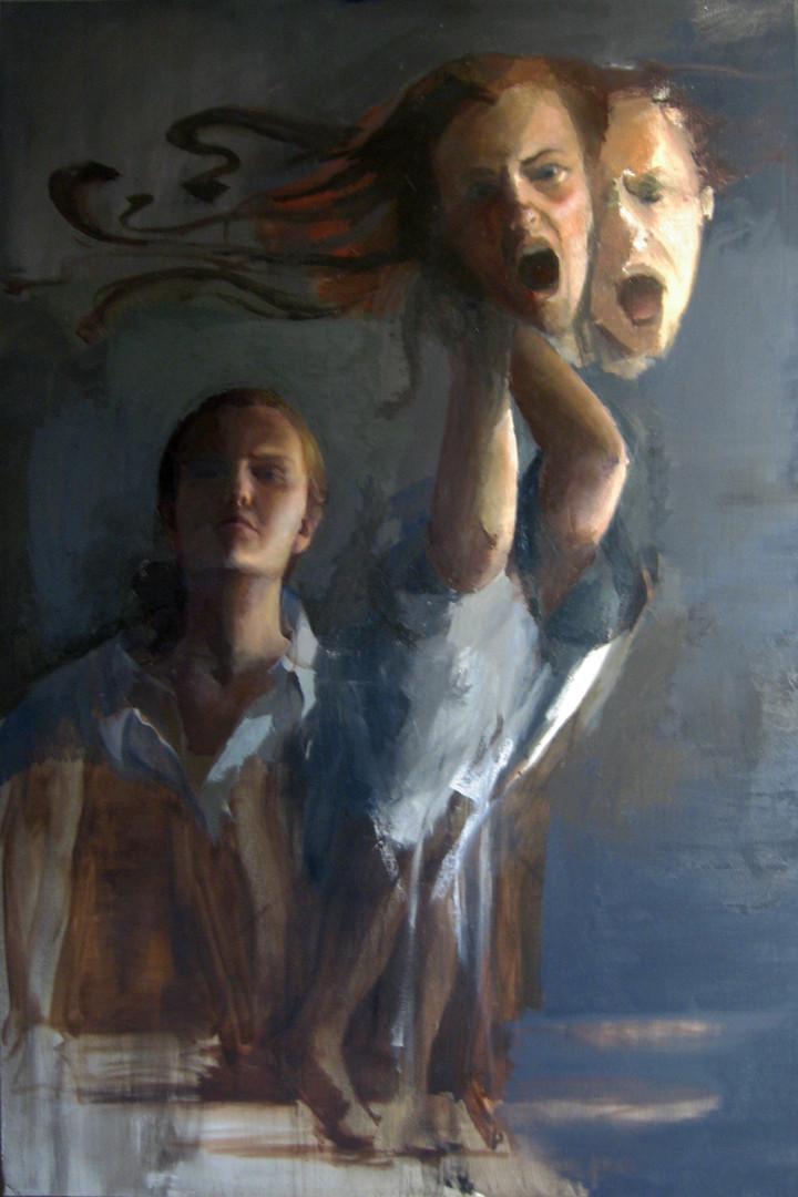 JuliaAronson_WhoIsHero_Oil_on_Canvas_100