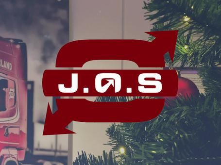 God jul fra oss i Ørland Transport