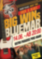 Plakat Big Wins Bluemar 14.06.2019 faceb