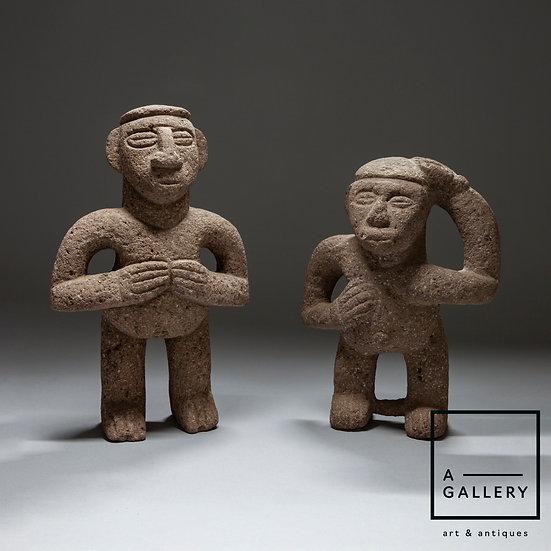Фигуры из вулканического камня, Коста-Рика (500-1000 гг. н.э.)
