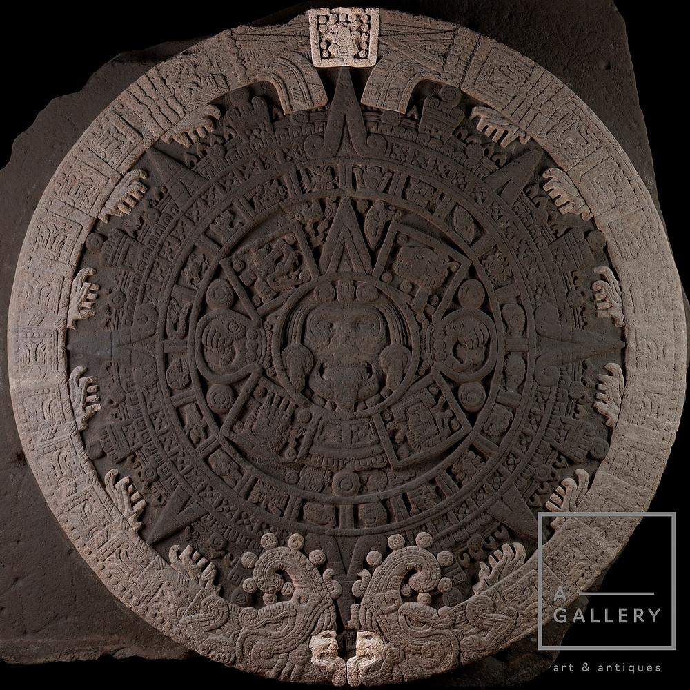 Внешнее кольцо. Огненные змеи. Лики богов и дата создания солнца.