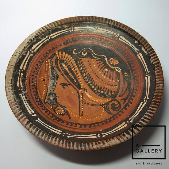 Тарелка краснофигурная (последняя четверть IV века до н.э.)