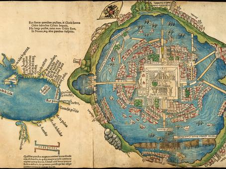 Великий Теночтитлан: город каналов и каноэ