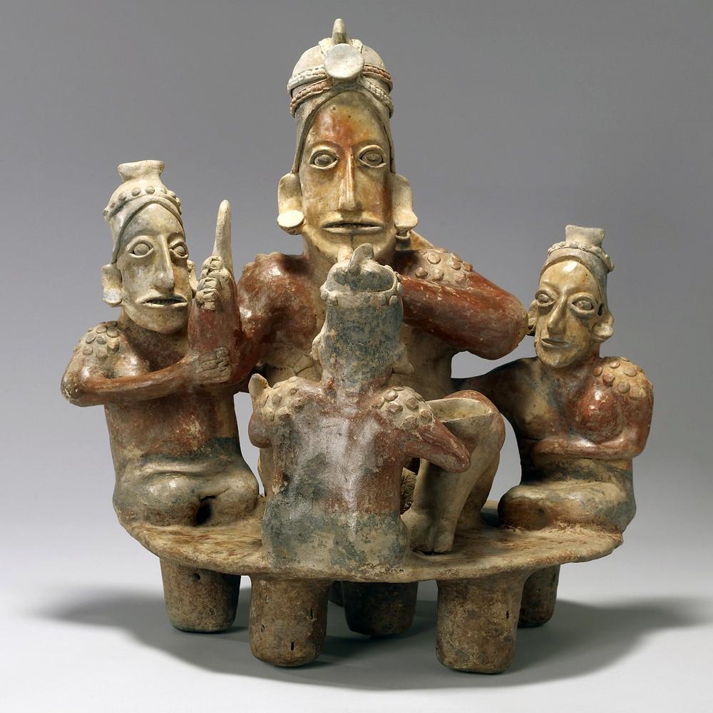 Пир. Халиско, 300 гг. до н.э. - 300 гг. н.э. Коллекция Walters Art Museum, Baltimore.