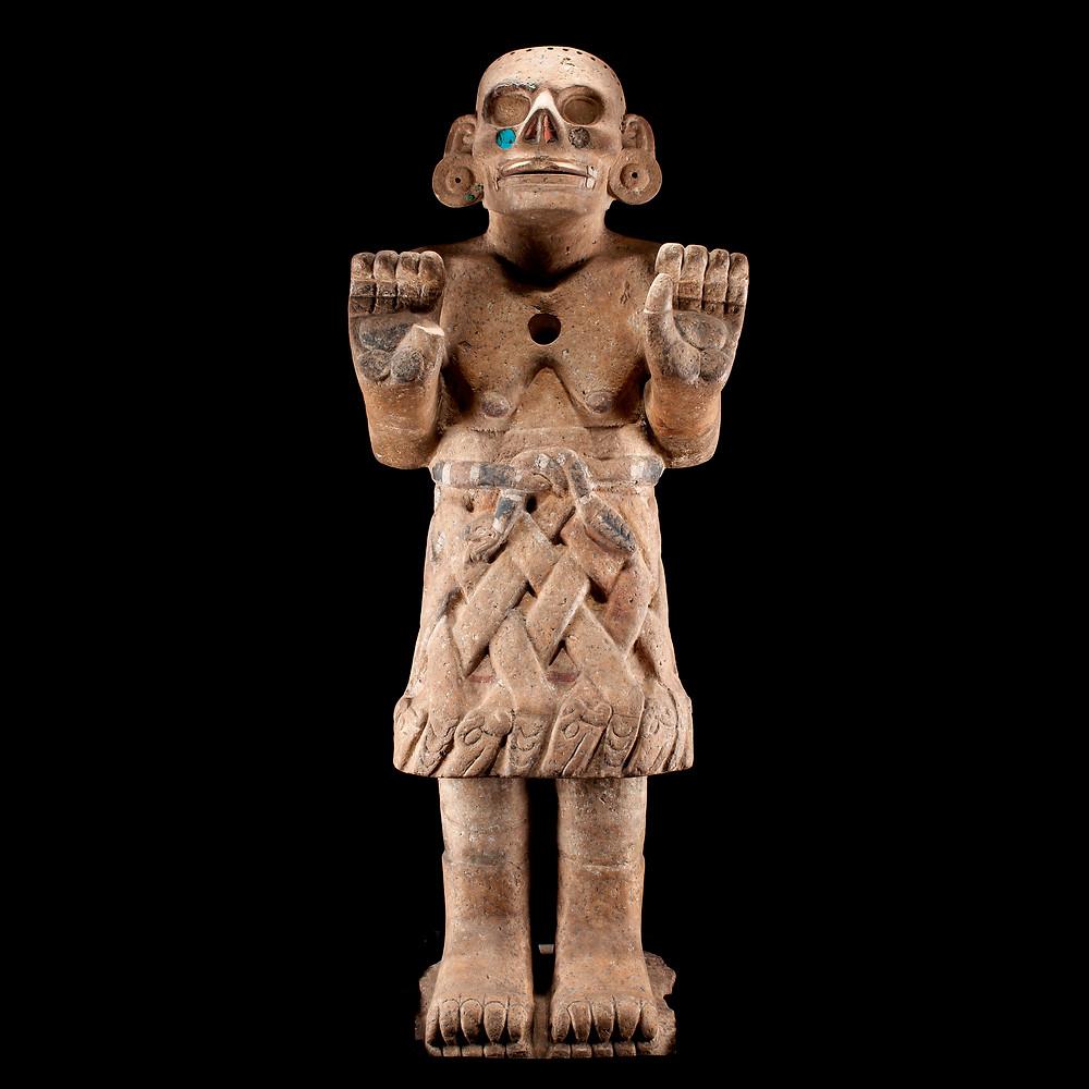 Коатликуэ. Мексика, 1250-1500 гг. н.э. Коллекция Museo Nacional de Antropología, México.