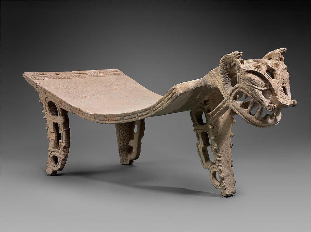 Метат в виде ягуара. Коста-Рика, 300-700 гг. н.э. Коллекция Museum of Fine Arts, Boston.
