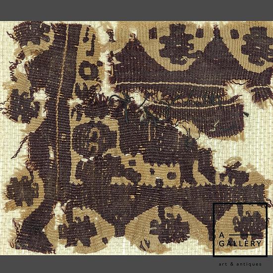 Фрагмент коптской ткани, V-VI вв. н.э.
