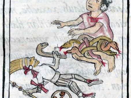 Миф о рождении ацтекского бога войны и солнца Уицилопочтли