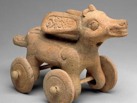 Почему индейцы не использовали колесо
