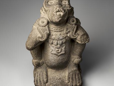 Связь бога ветра с обезьяной и змеей. Скульптура из собрания Музея искусств Метрополитен