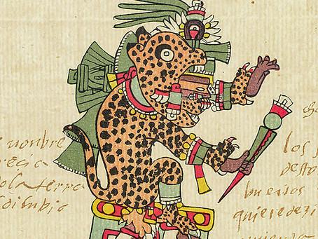 Тепейоллотль - бог ягуаров, пещер, землетрясений и горного эха