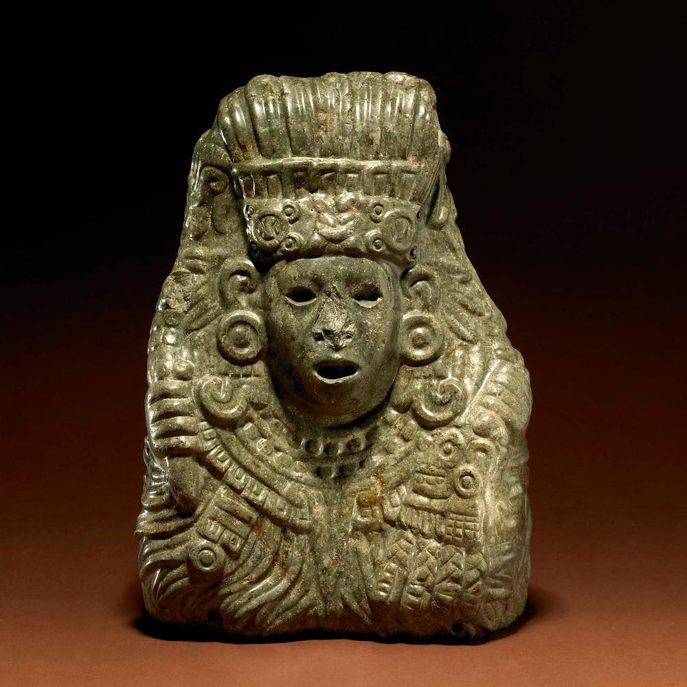Кецалькоатль. Ацтеки, 1325-1521 гг. н.э. Коллекция British Museum.