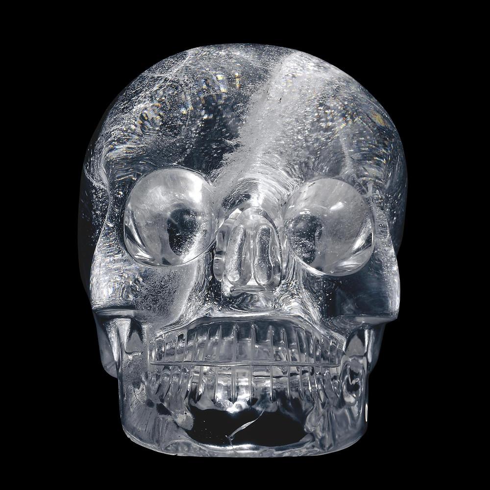 Хрустальный череп. Коллекция British Museum.