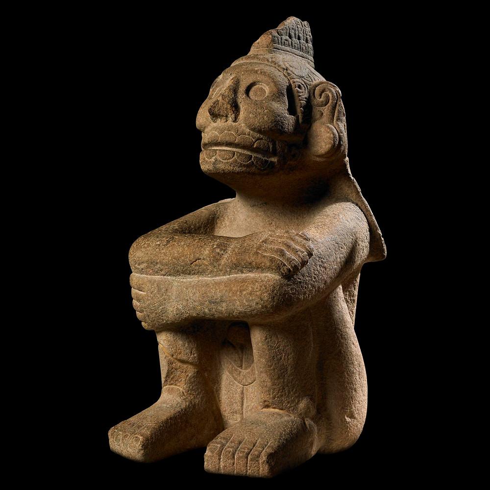 Миктлантекутли. Ацтеки, 1325-1521 гг. н.э. Коллекция British Museum.