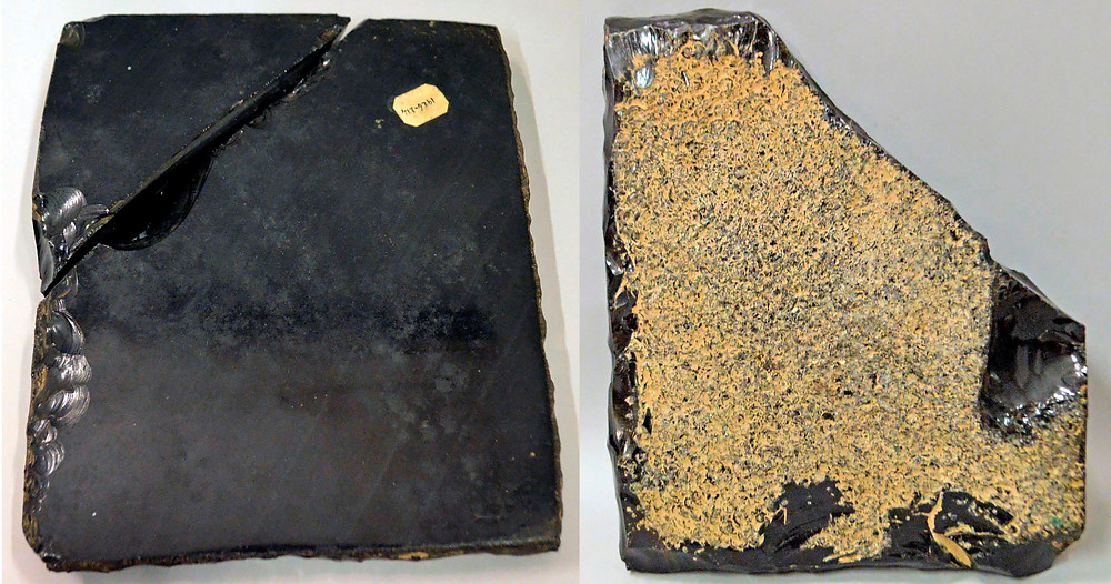 Лицевая и тыльная сторона зеркала. Ацтеки. Коллекция The British Museum.