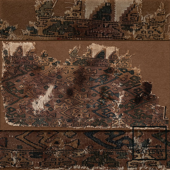 Фрагмент ткани, Чиму (1150-1450 гг. н.э.)