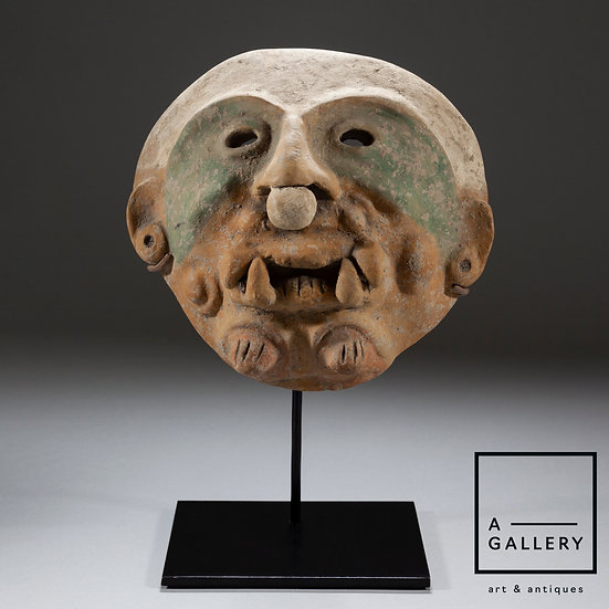 Маска, культура Джамакоа (около 500 г. н.э.)