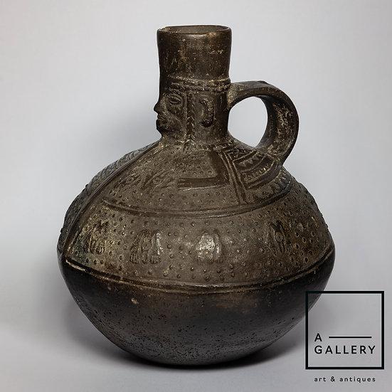 Сосуд, культура Ламбаеке (1100-1400 гг. н.э.)