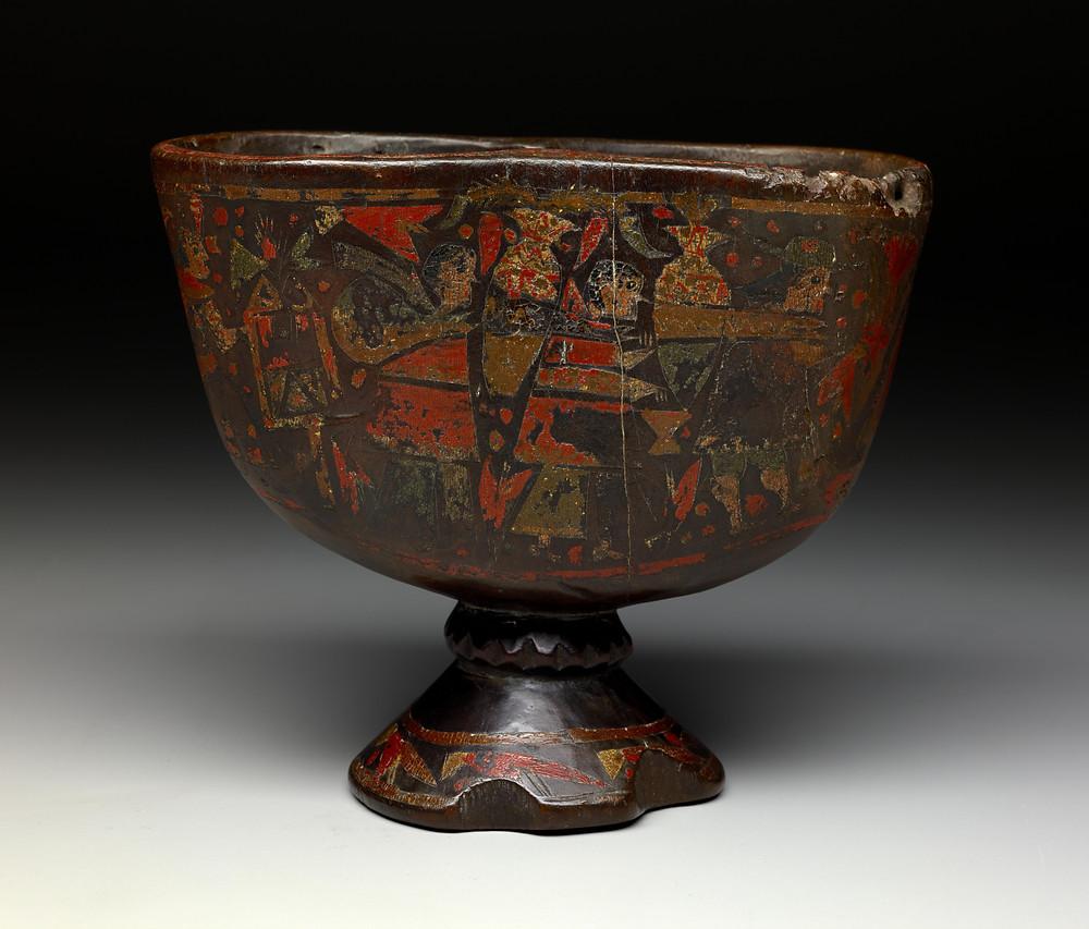 Керо. Инки, 17-18 вв. н.э. Коллекция The Dallas Museum of Art.