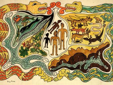 Сотворение мира и человека. Мифология майя