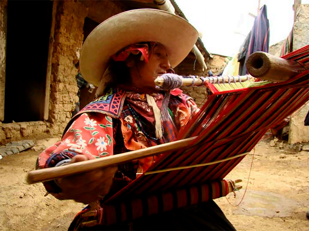 Традиционная техника плетения ткани. Источник: Weaving the world. Techniques and modes of Self in the Quechua-speaking community of Inkawasi (Lambayeque, Peru). Luz Martínez, 2015.